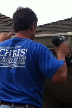 Chris' Seamless Gutters & Patio Covers
